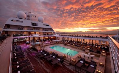Seabourn top deck