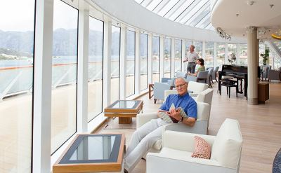 Viking Cruise lounge